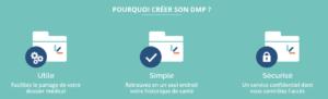 DMP, Santé